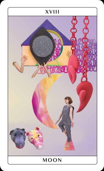 Candida Powell-Williams, Tarot Card from Unreasonable Silence