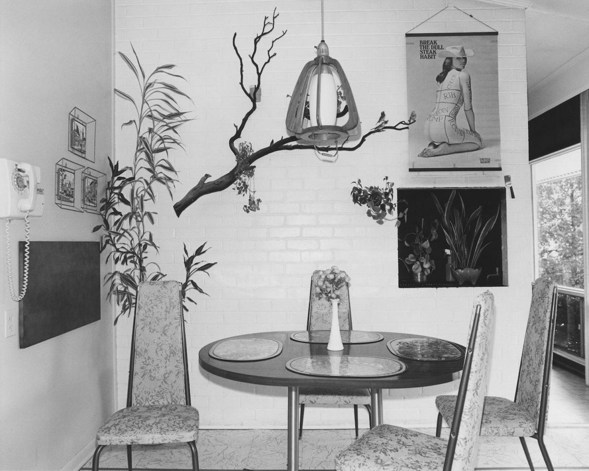 Arnold Kramer, Breakfast Room, Stevenson, Maryland, 1977. Courtesy Joseph Bellows Gallery