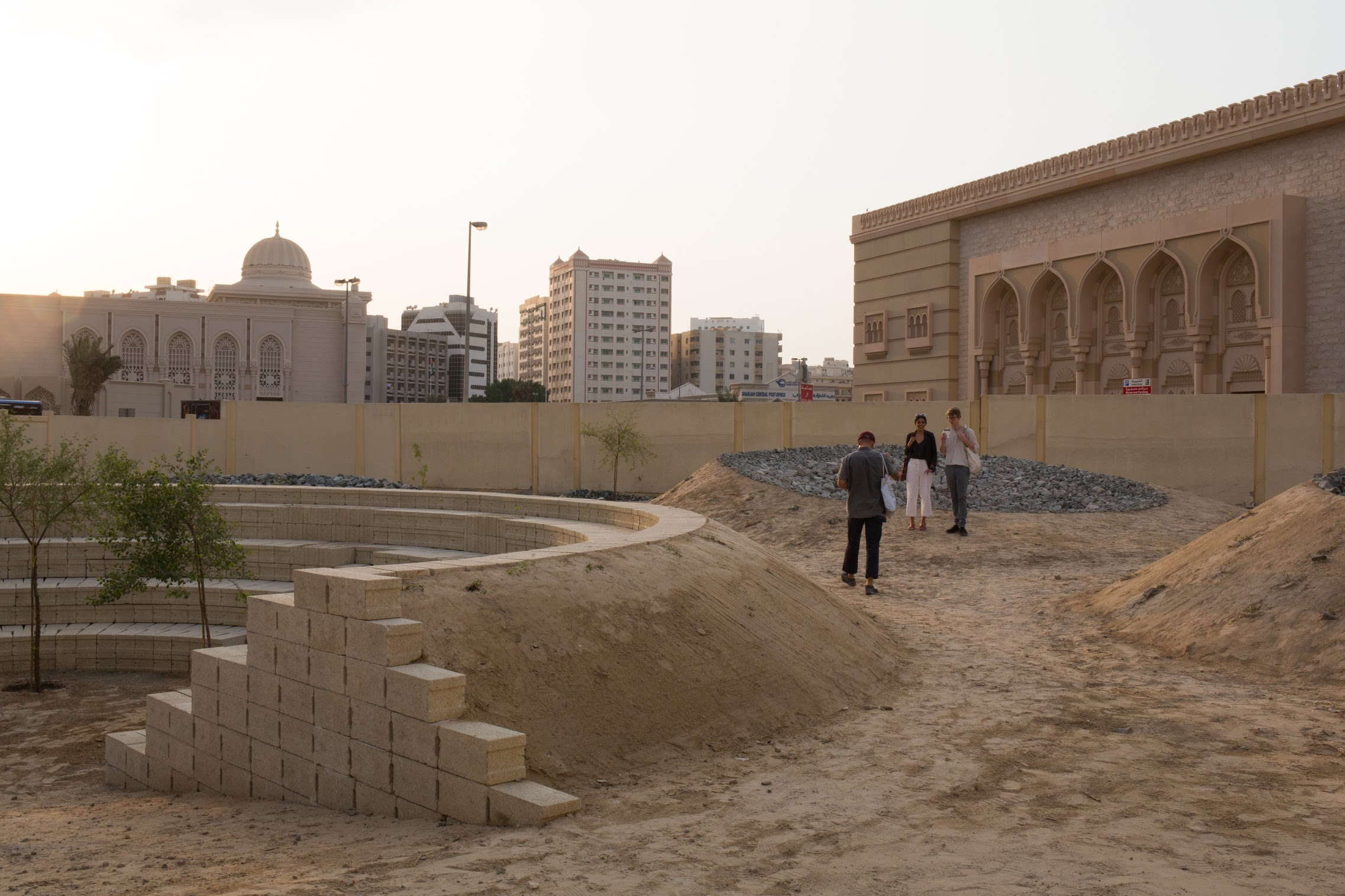 Cooking Sections, Becoming Xerophile, 2019. Installation view. Commissioned for Rights of Future Generations, inaugural edition of the Sharjah Architecture Triennial, 2019. Courtesy Antoine Espinasseau