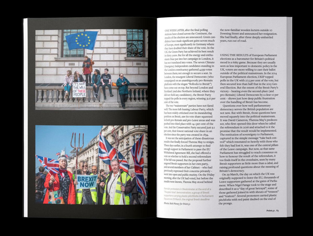 Point.51 magazine, issue 2, spread