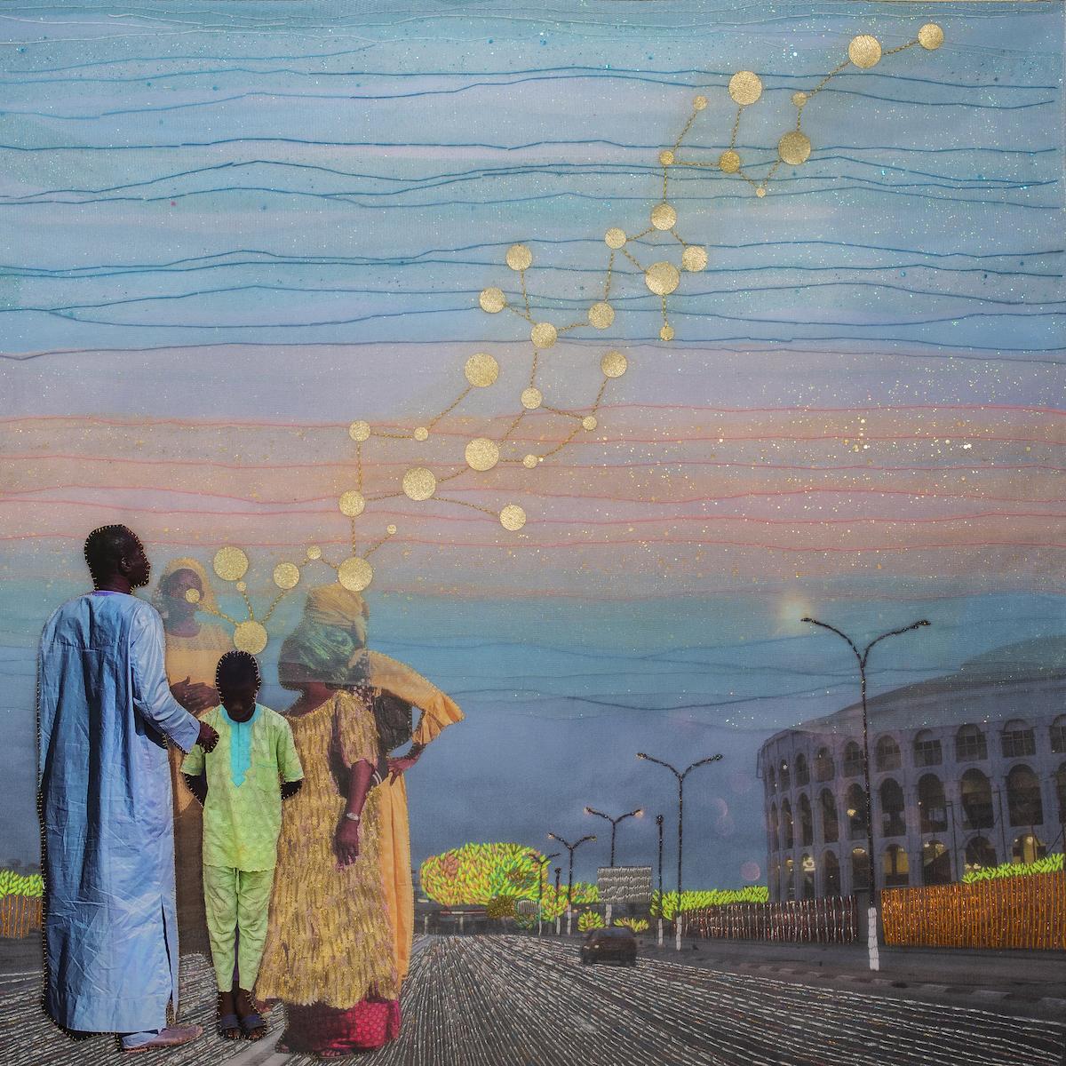 Joana Choumali, Dream Leftovers, Series Albahian, 2019.