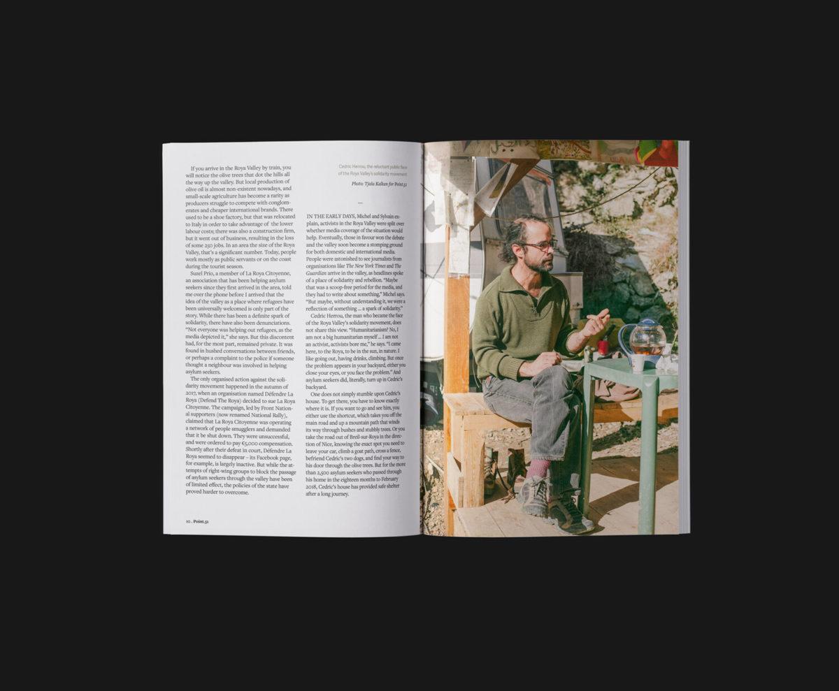 Point.51 magazine, spread