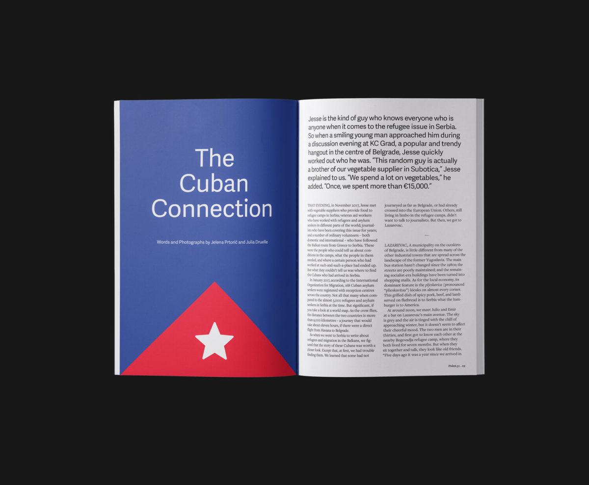 Point.51 magazine, issue 1, spread