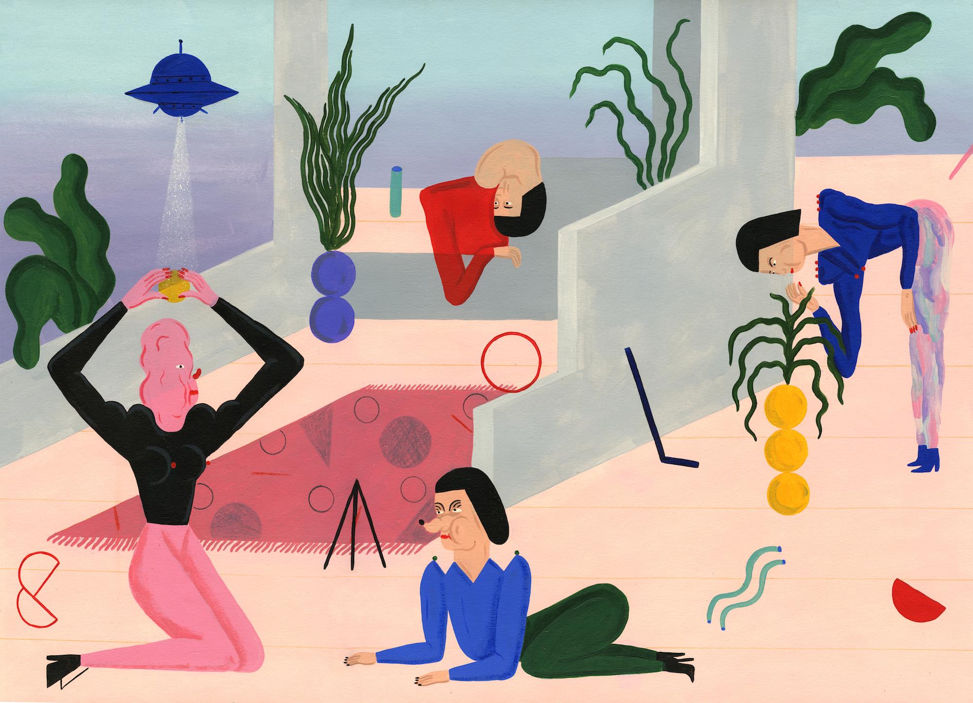 Illustration by Stefhany Y Lozano