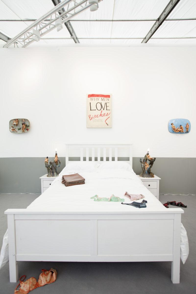 Frieze London installation, 2019
