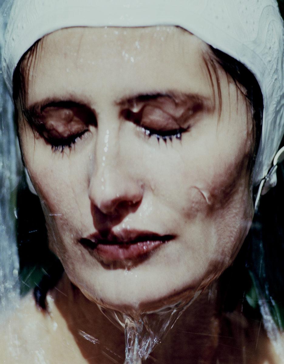 Hannah And Waterfall I, 1997