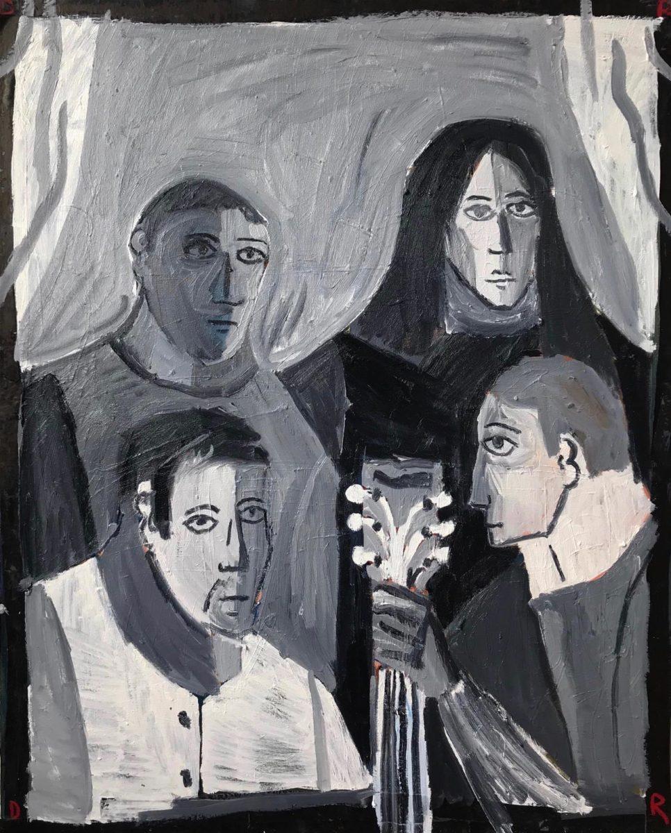 Danny Romeril, Five Heads (4 Regular One Stock), 2019