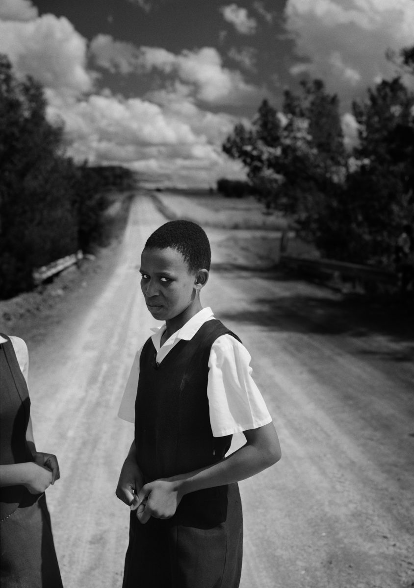 Schoolgirl (white photographer), Northern Transvaal (now Limpopo Province), South Africa, 1991