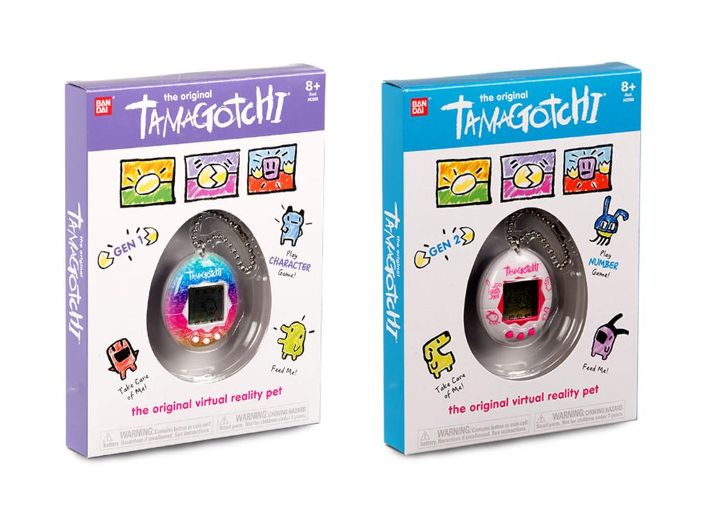 Second generation Tamagotchi packaging