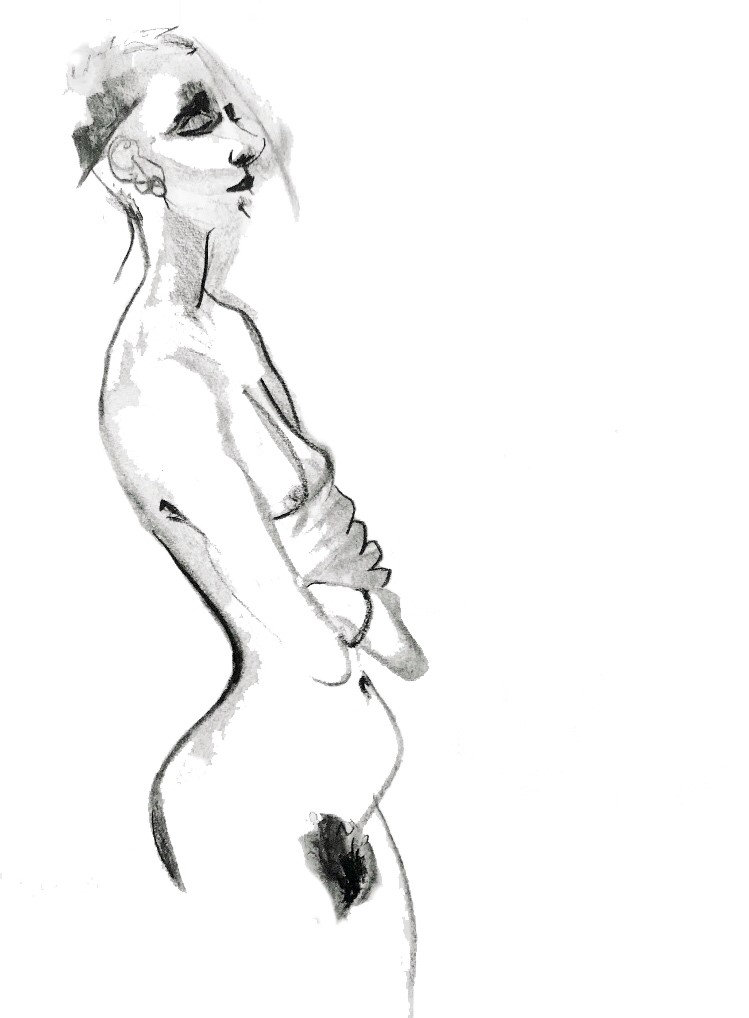 Life drawing by Lily Holder