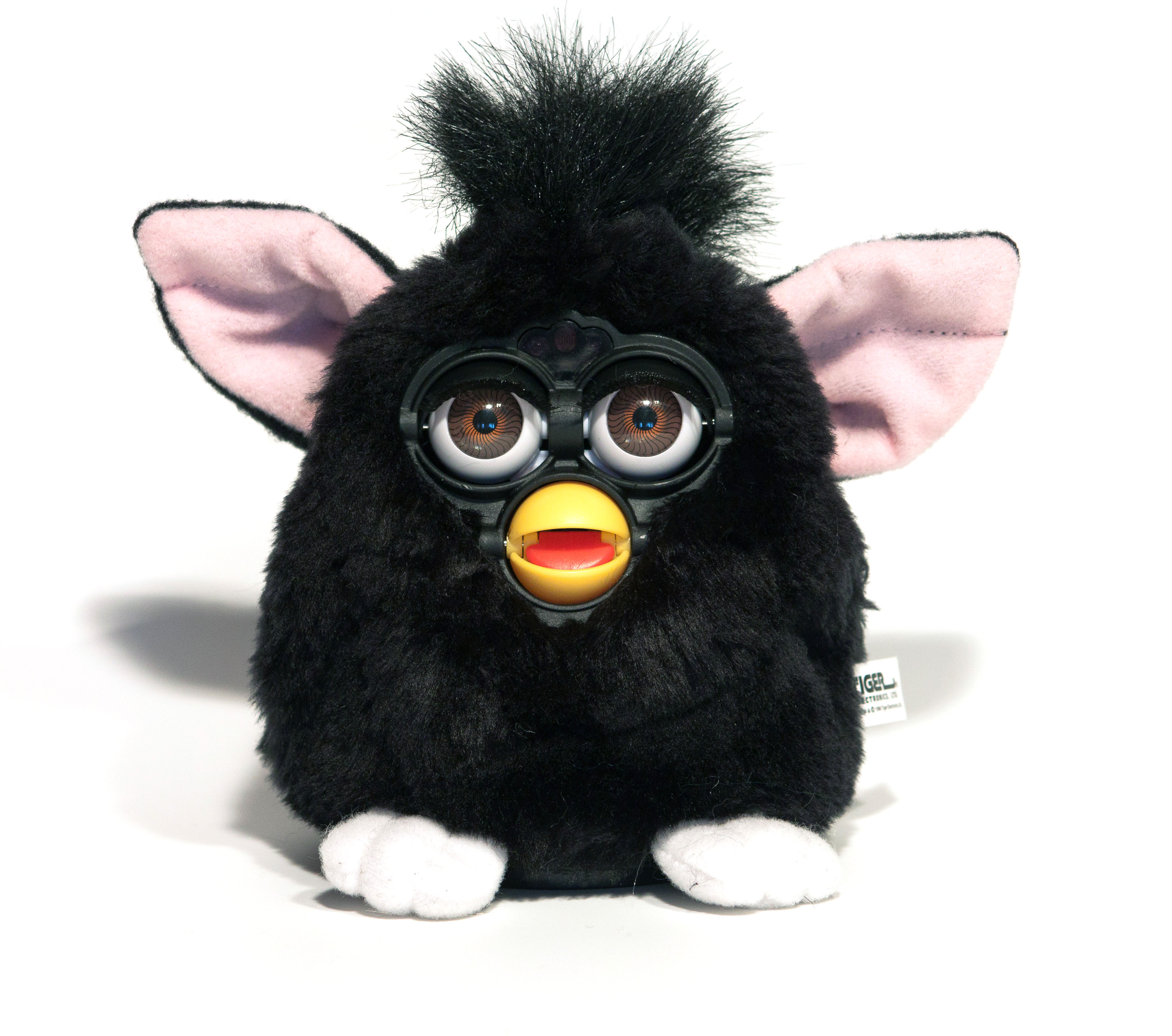 1998 Furby model in black, by Tiger Electronics