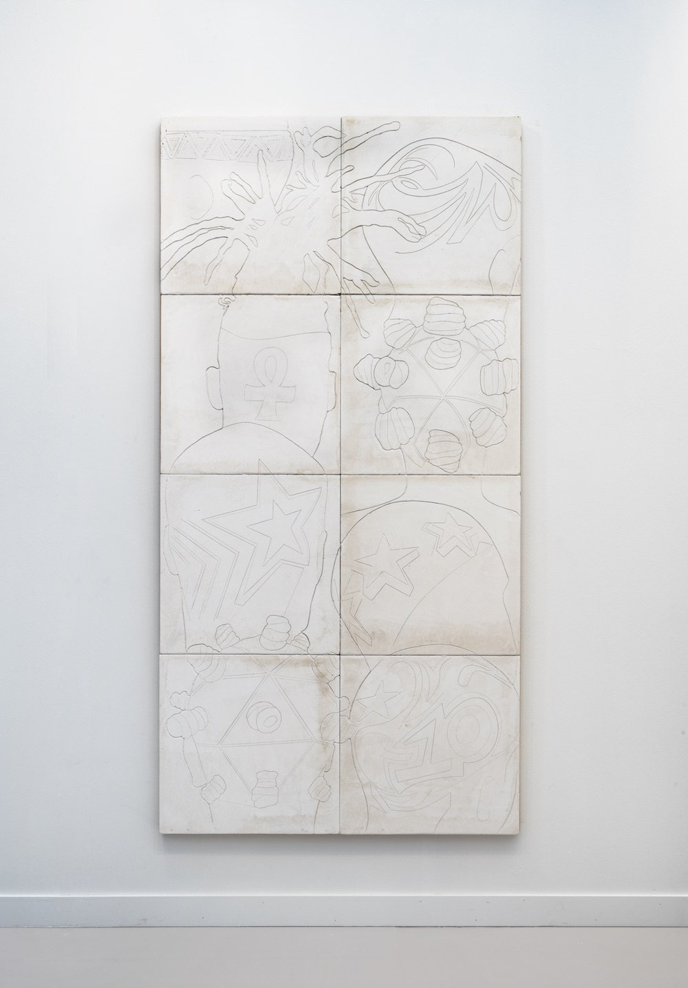 Lauren Halsey, Untitled, 2020 David Kordansky Gallery