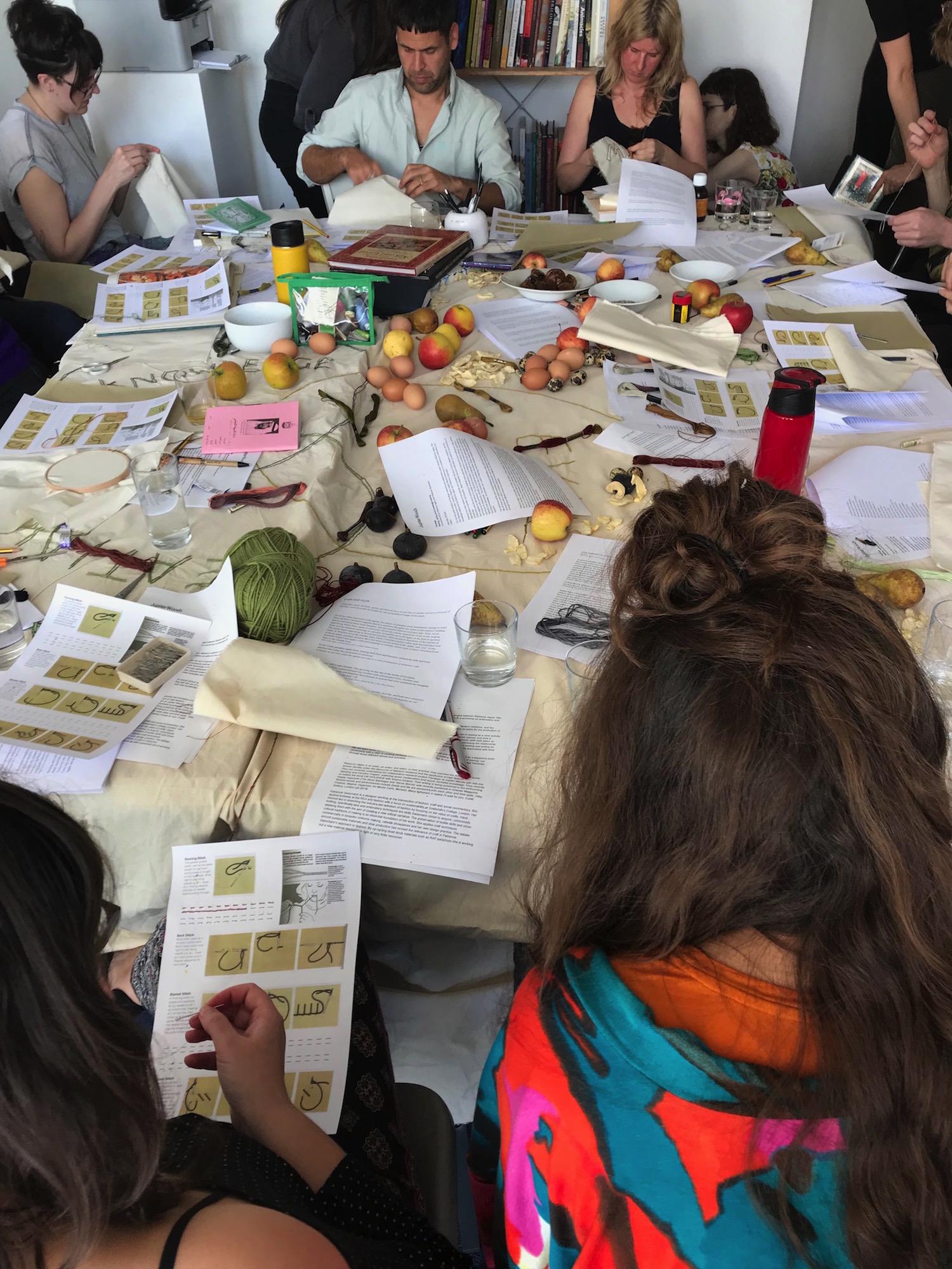 Workshop at Jupiter Woods Gallery