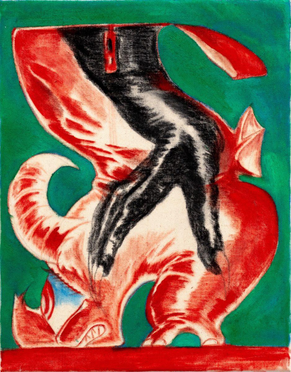 Bijous (red boots), 2020