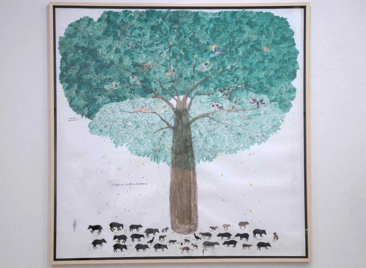 Abel Rodríguez,  El árbol de la vida y la abundancia, 2019. Courtesy the artist and Instituto de Visión