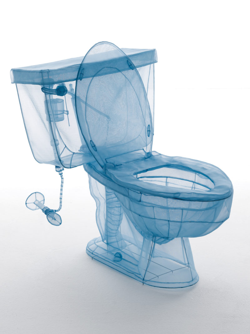 Do Ho Suh, Toilet, Apartment A, 348 West 22nd Street, New York, NY 10011, USA, 2013 © Do Ho Suh. Courtesy of the artist, Lehmann Maupin New York, Hong Kong, and Seoul, and Victoria Miro, London/Venice