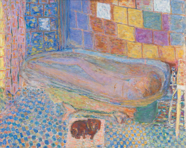 Pierre Bonnard, Nude in Bathtub, c.1940-1946