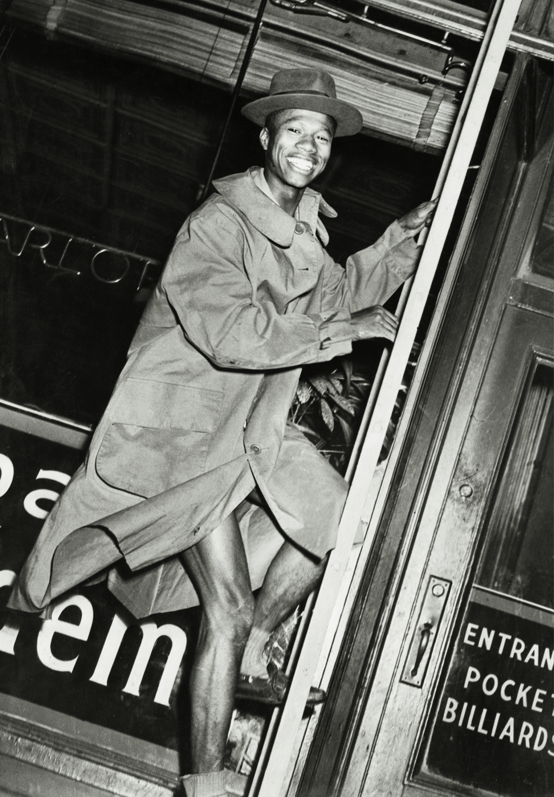 From Weegee's Naked City, first published 1945