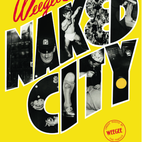 Weegee's Naked City, cover