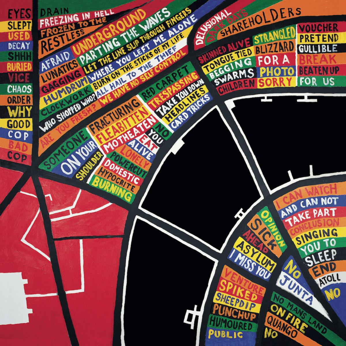 Stanley Donwood, artwork for Radiohead's In Rainbows album, 2007