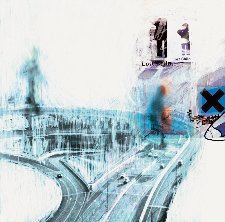 Stanley Donwood, artwork for Radiohead's OK Computer album, 1997