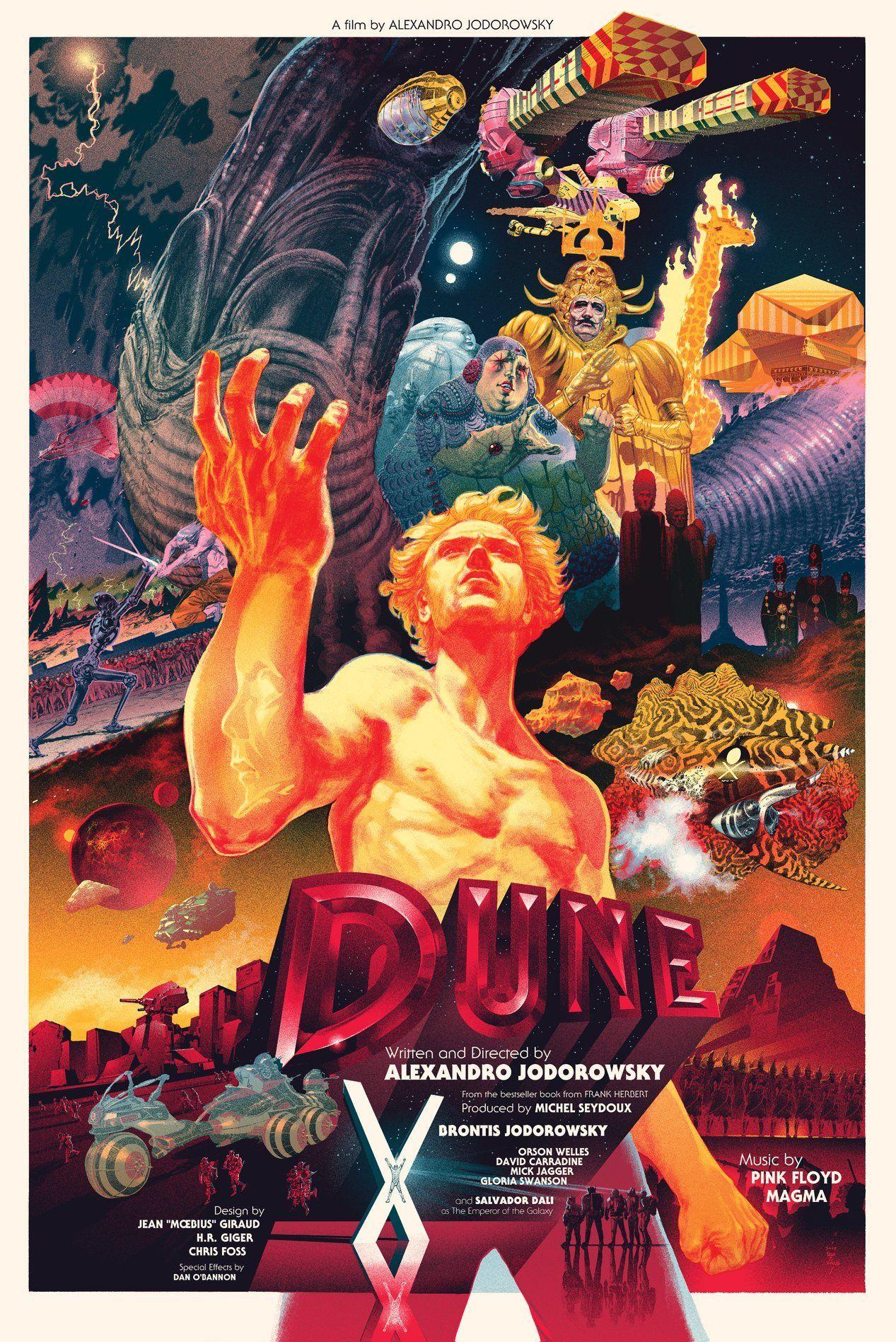 Original poster for Jodorowsky's Dune