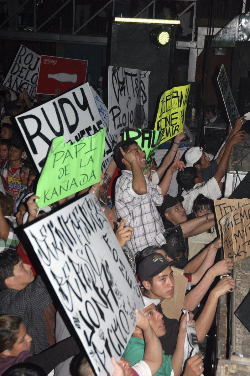 At a cumbia concert of Paco Silva, Lone Star Club, Monterrey, Mexico, 2010, Mirjam Wirz