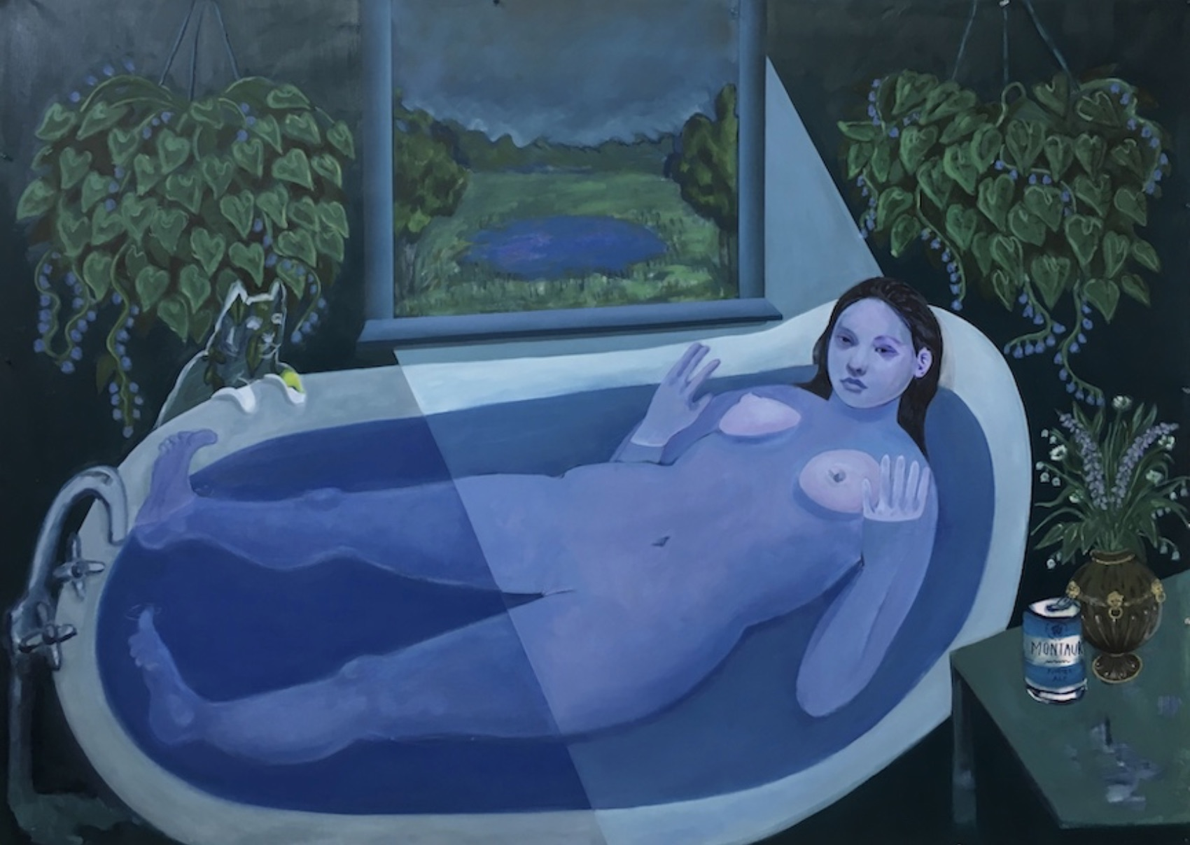 Bambou Gili, Ophelia In The Tub, 2019. Image courtesy of the artist and Arsenal Contemporary Art, New York