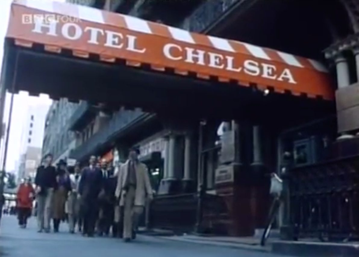 BBC Four Arena Chelsea Hotel episode still