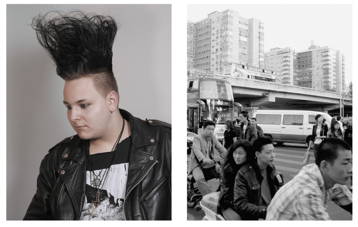 Danny, Essen2008; Beijing,2011. From Imaginary Club by Oliver Sieber