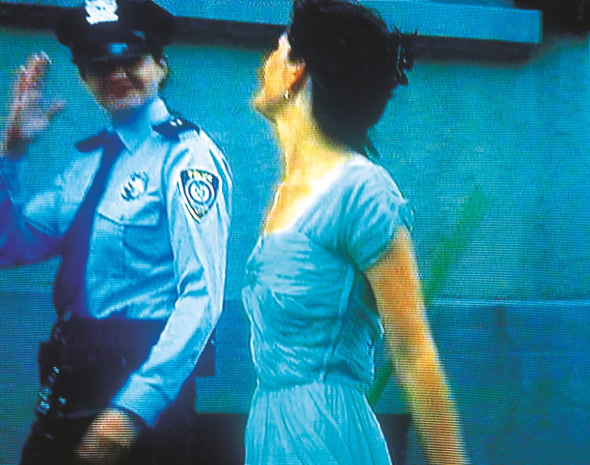 Ever Is Over All, 1997, audio video installation by Pipilotti Rist (video still) 2_cmyk_300dpi_30cm