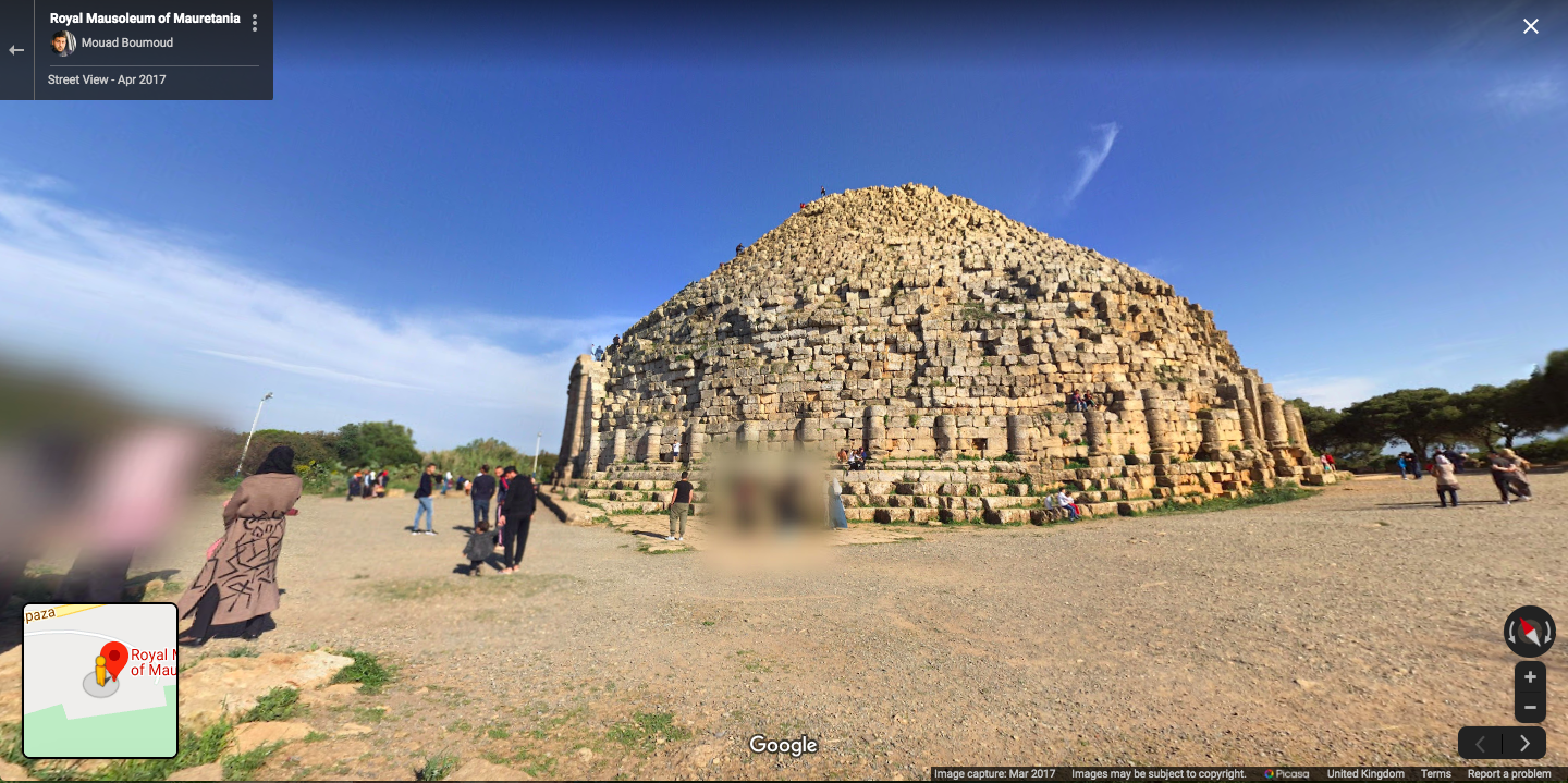 Google Maps can alert you to some fascianting heritage sites
