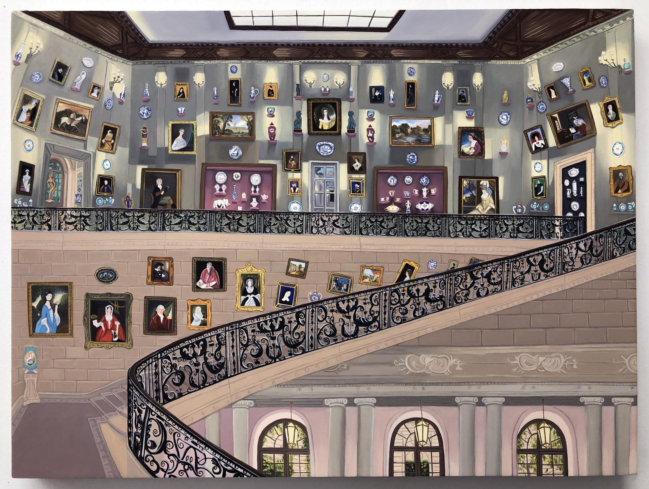 Gretchen Scherer Imagining the Frick, Second Floor, 2020