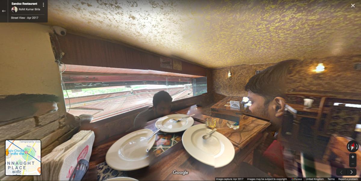 Phantasmal forms in a New Delhi restaurant 2