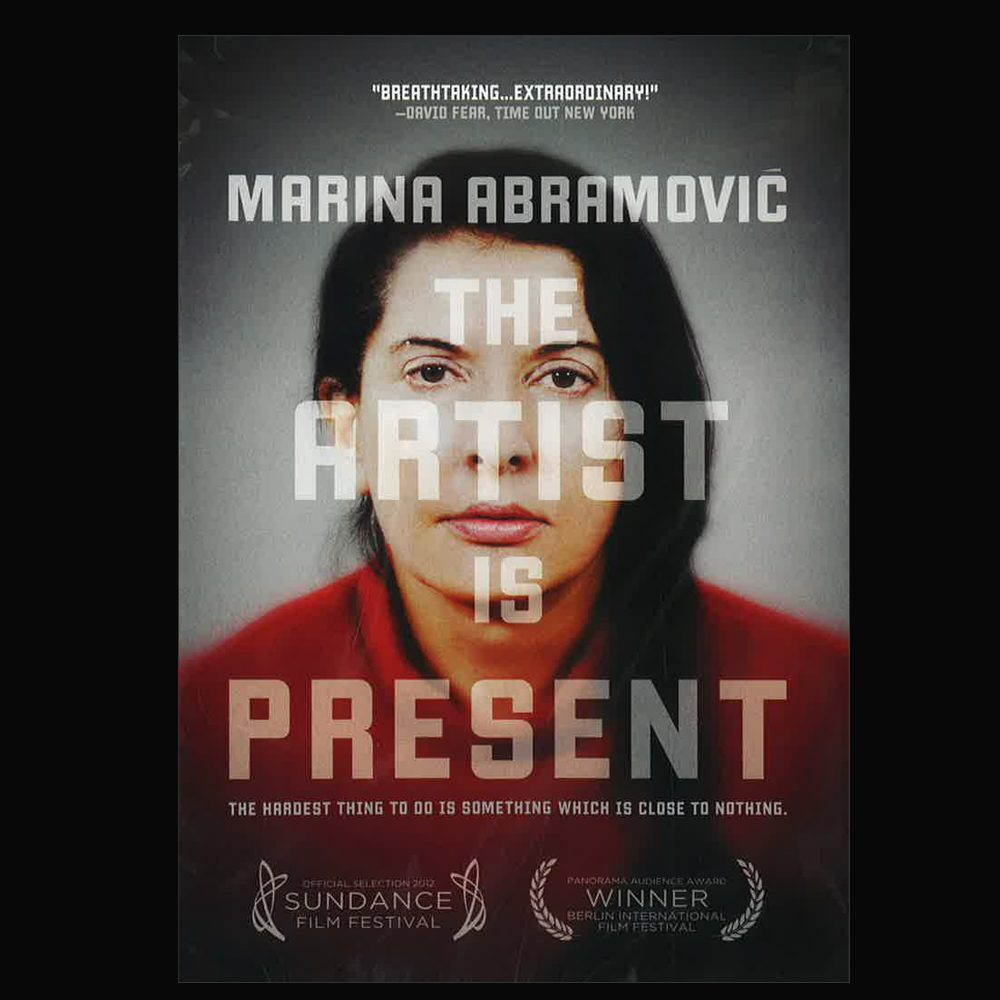 Marina Abramovic: The Artist is Present film poster