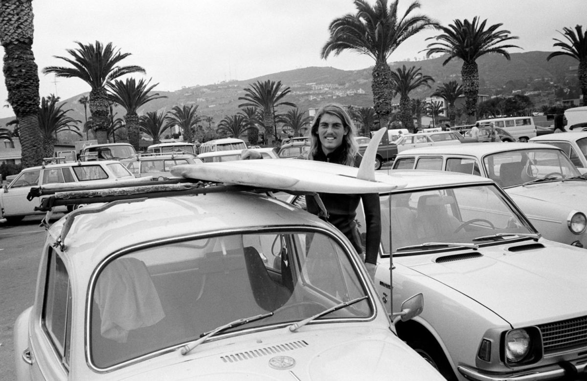 Jeff Divine, La Jolla Shores, CA 1970. Photo c Jon Foster