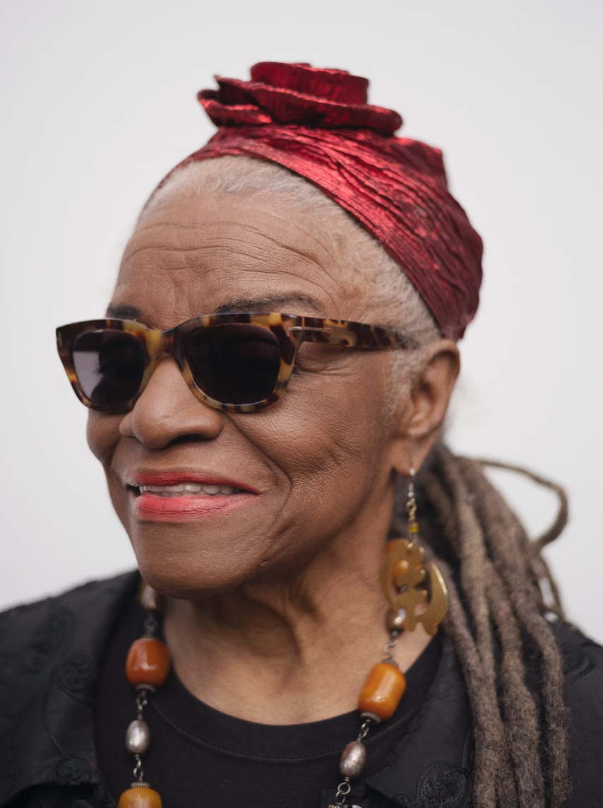 Portrait of Faith Ringgold by Benjamin McMahon for Elephant