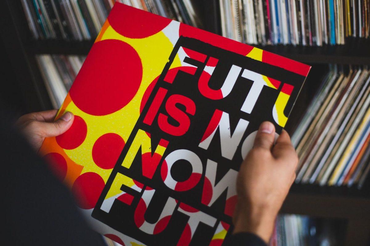 Anthony Burrill and Andrew Claristidge,Future Is Now