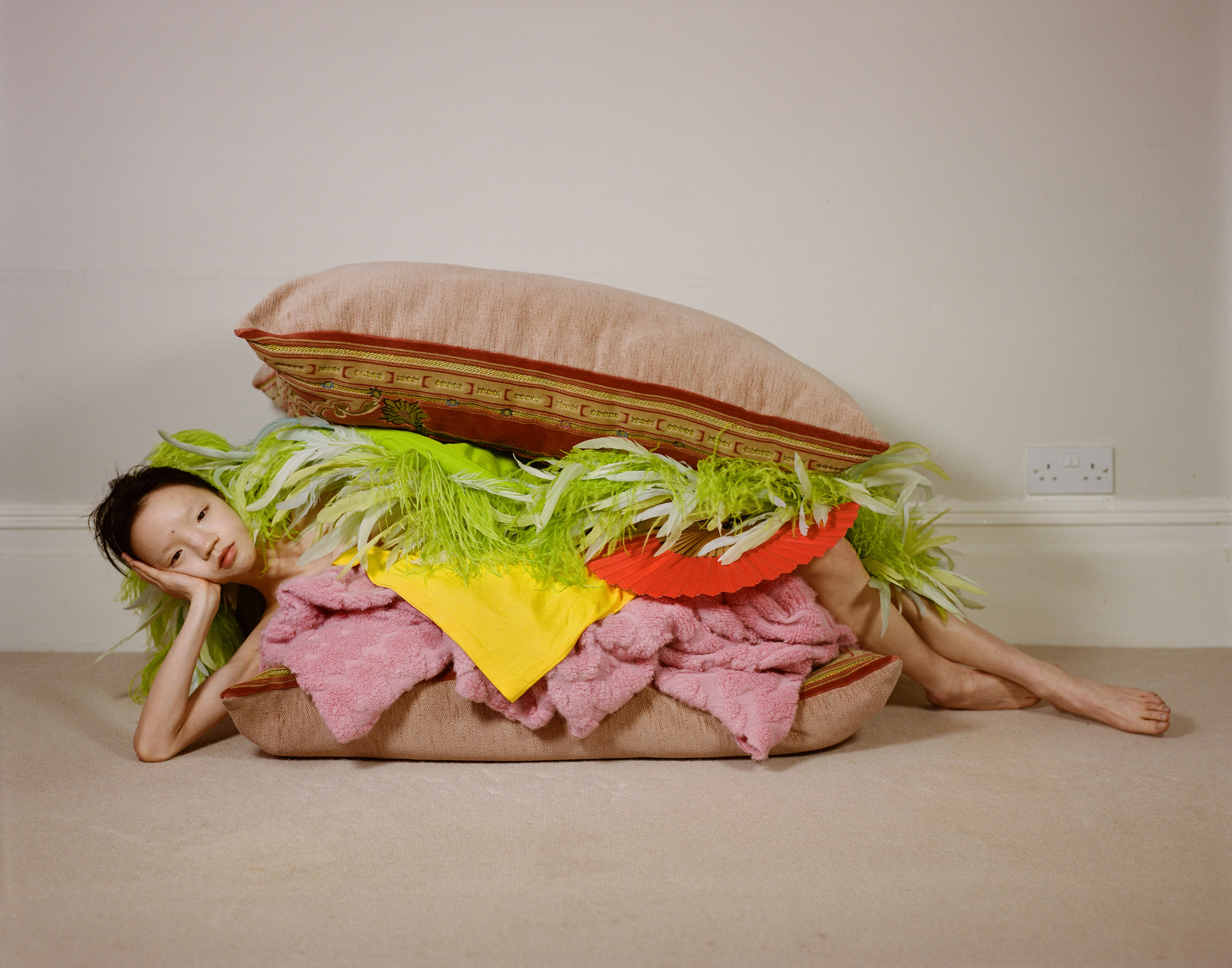 Part of a fashion story shot for Luncheon Magazine. Art direction and styling by Rottingdean Bazaar