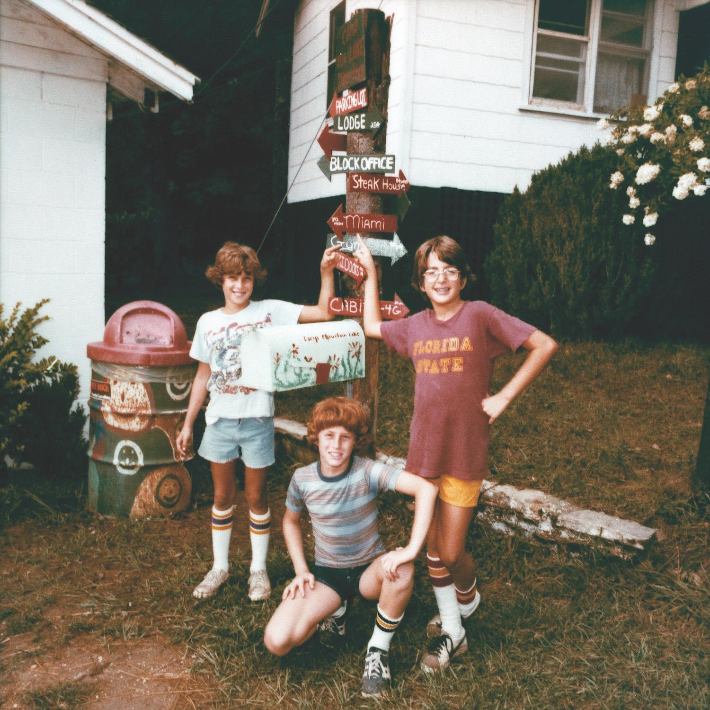 Andy Sweet, Camp Mountain Lake, Summer 1977, from Hello Muddah, Hello Faddah