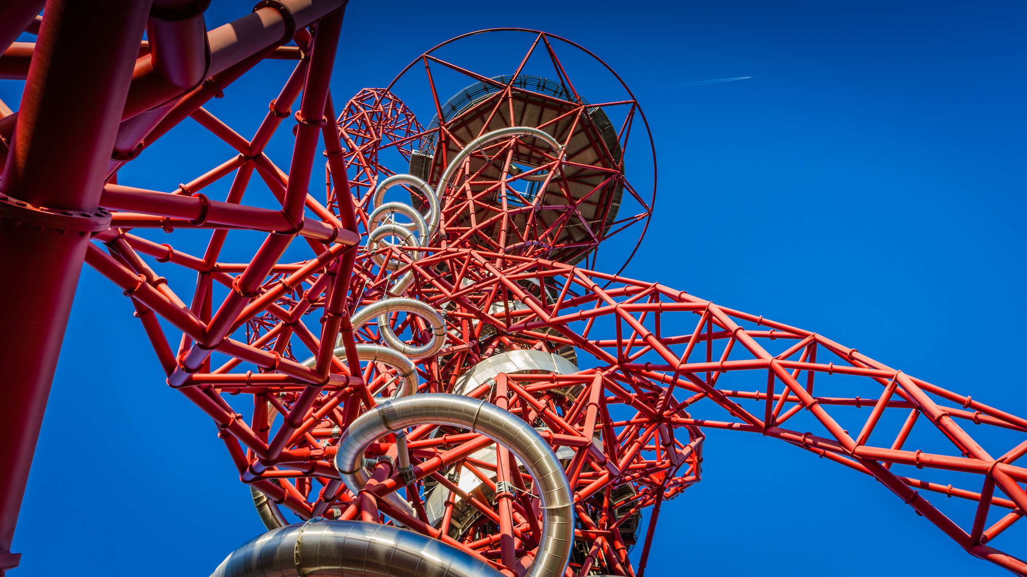ArcelorMittal Orbit and The Slide, courtesy of Queen Elizabeth Olympic Park