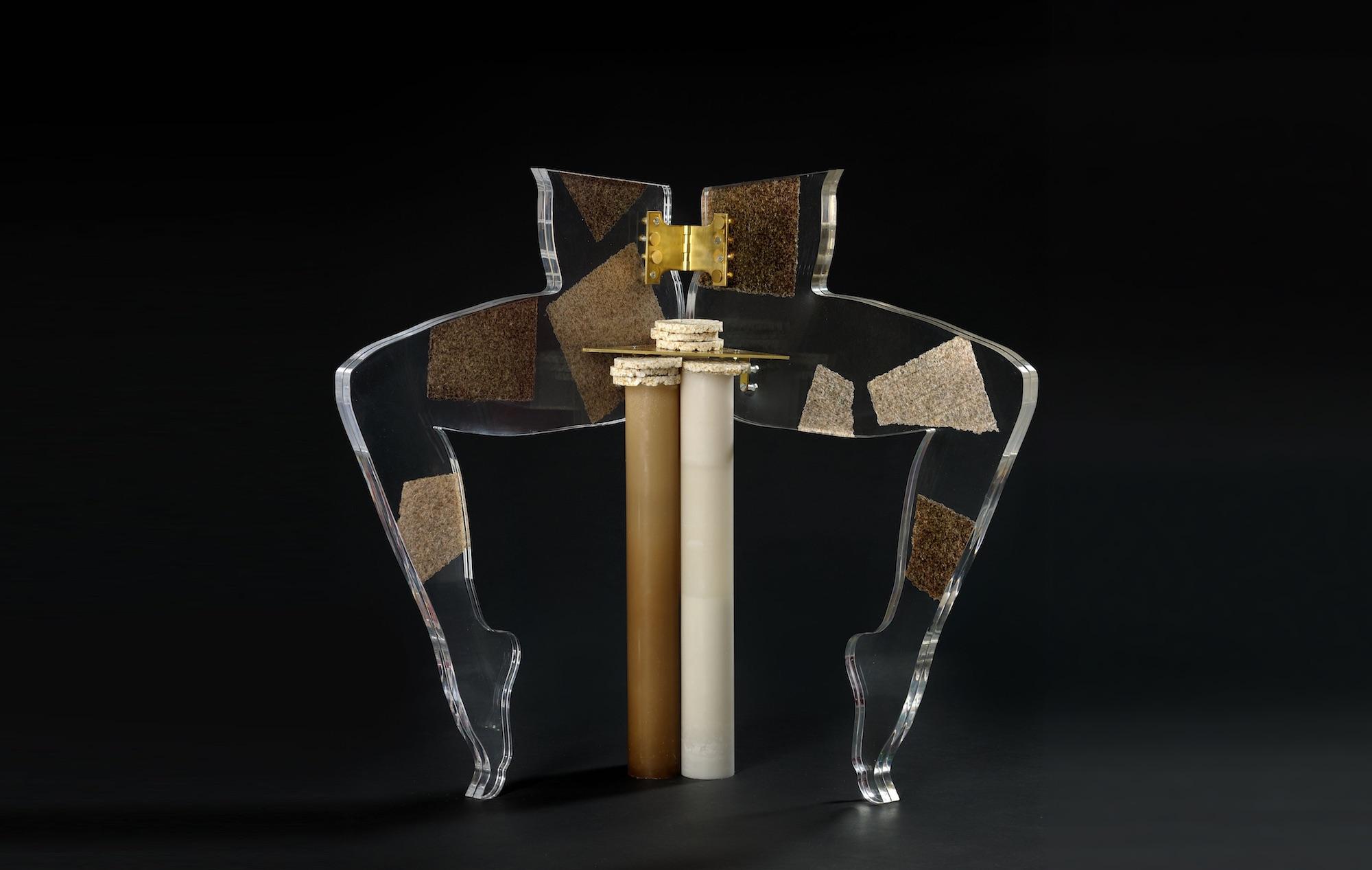 Leg Chair (Sushi Nori), 2012