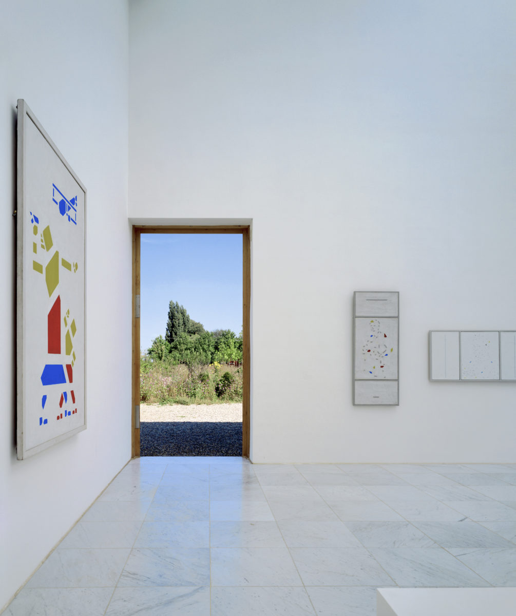 Museum Insel Hombroich 12er-Galerie. Bart van der Leck