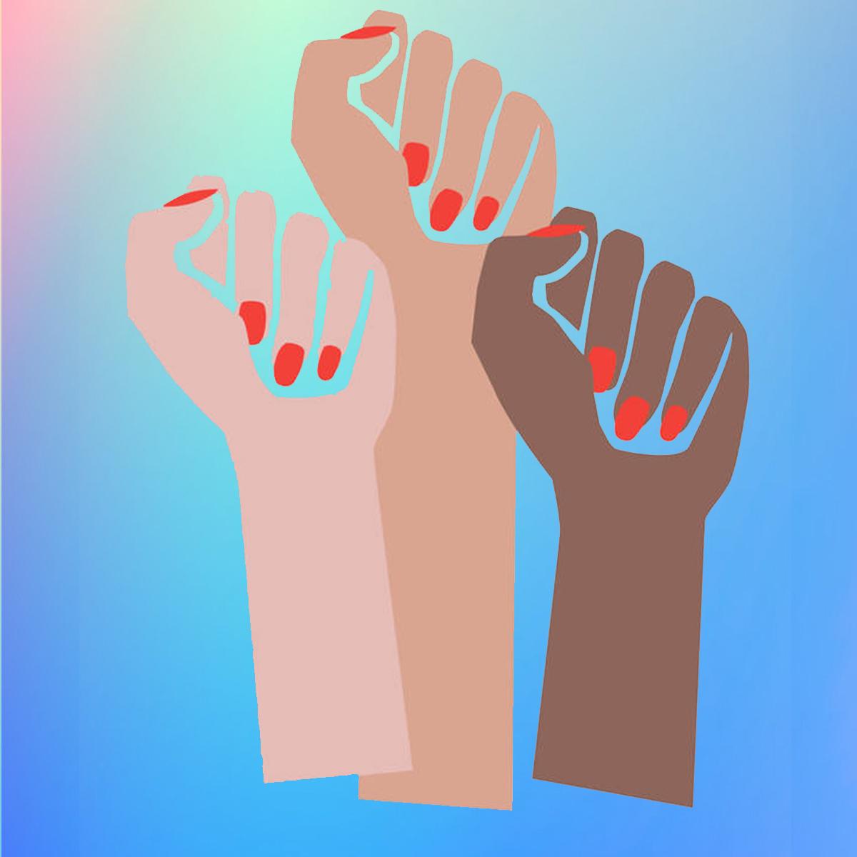 Femme Fists symbol