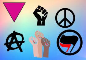 Protest symbols