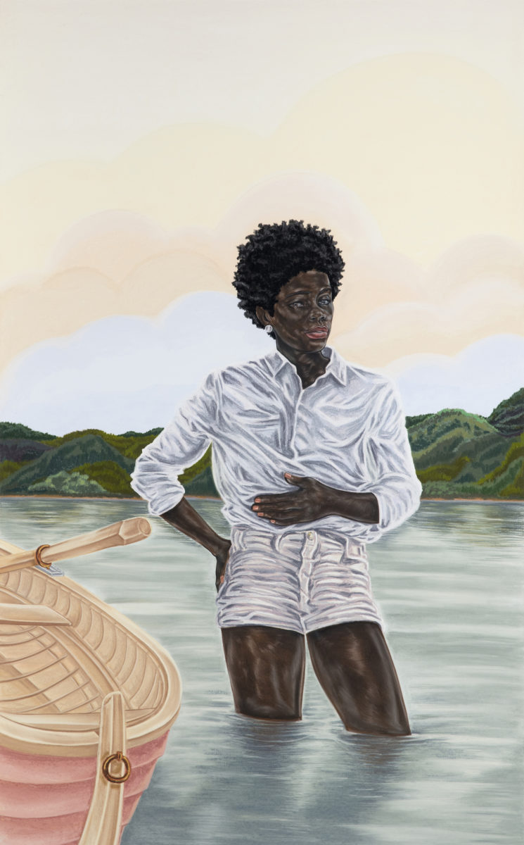 By Her Design (2017) © Toyin Ojih Odutola. Courtesy of the artist and Jack Shainman Gallery, New York