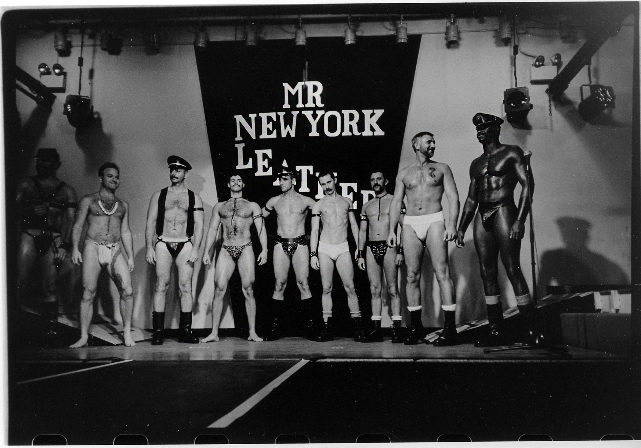 Stanley Stellar, Mr New York Leather, 1987