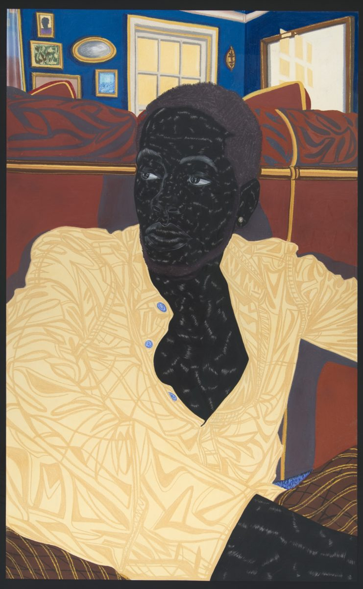 Home from Magdalene (2016) © Toyin Ojih Odutola. Courtesy of the artist and Jack Shainman Gallery, New York