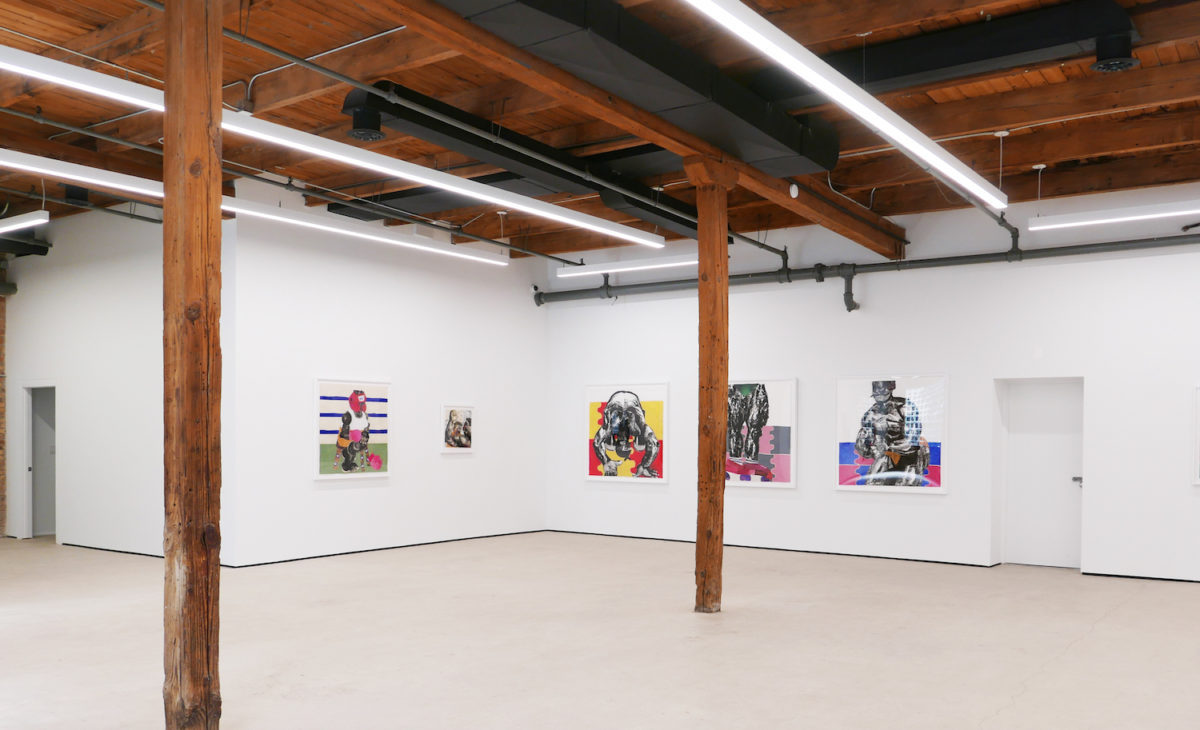 The Contest installation view. Courtesy of the Artist and Mariane