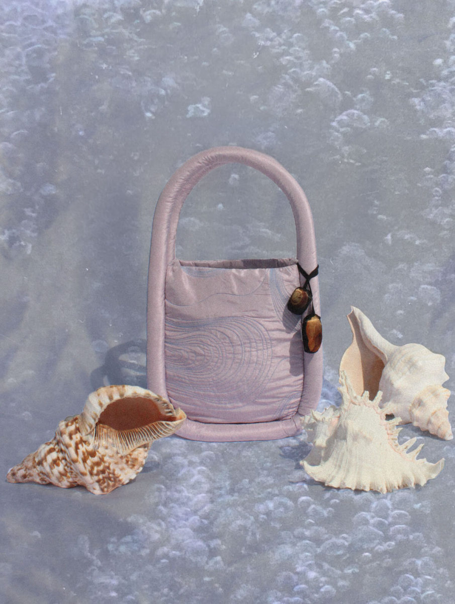Fior di Latte, Quilted Ripple Tote